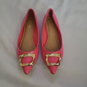 Alba ballerina pink flats size 8
